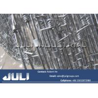 Concertina barbed wire coils high tensile galvanized