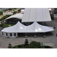 Buy cheap Fire Retardant High Peak Pole Tent Sun Shade Canopy For Exhibition product