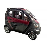 Buy cheap 240Kg Economic Electric Cars , 60V1200W Motor Steering Wheel Automatic Electric Car product