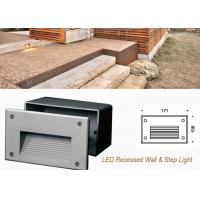 Buy cheap Outdoor LED White Recessed Wall Mounted Light Decoration Step Light Waterproof Floor Lamp product