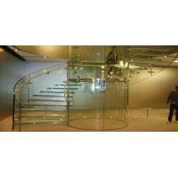 Buy cheap New home designs tempered / laminated glass for Staircase product