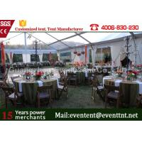 Quality Clear Span Tent Customized Exhibition Display marquee With European Standard Frame Structure for sale