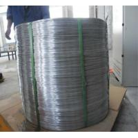 China SWRY11 H08A Welding Aluminium Wire Rod Silk Well Electrical Conductivity on sale
