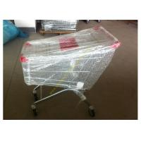 Buy cheap Supermarket Shopping Cart Trolley / Metal Grocery Cart / 150 Litres Hand Trolley from Wholesalers