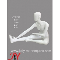 Buy cheap Jolly mannequins-headless female sport mannequin standing stretching leg pose JY-0039 product