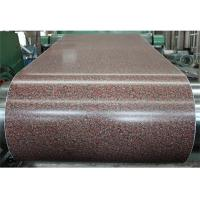 Buy cheap PMC PPGI Laminated Metal Sheet Aluminium Door PET Color Coated Coil Hot Rolled from wholesalers