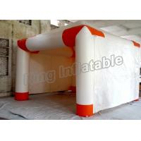 Buy cheap Trade Showing White Inflatable Event Tent With 16 - 2600 Square Meter from Wholesalers