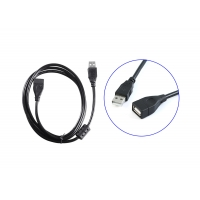 Buy cheap UL 4.8mm 4 Core 1.5m USB Male To Female Cable product