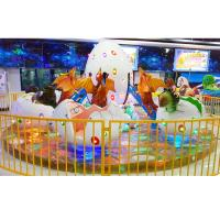 Buy cheap White dino egg outlook 12 seats helicopter lifting and revolving amusement park ride product