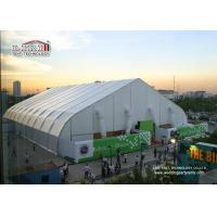 Buy cheap 40m Width Portable Aluminum Waterproof  Exhibition TFS Polygon Tent Structures With Air Conditioner product