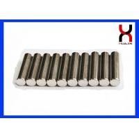 Custom Permanent Neodymium Cylinder Magnet N35 N52 N50M N48H Grade Available