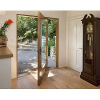 Buy cheap Low Noise Wooden Front Doors , SS304 Lock 8mm MDF Board Solid Wood Panel Doors from wholesalers