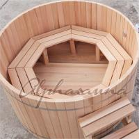 Buy cheap ISO High grade luxury Portable wooden barrel SPA Hot Tub for Outdoor used product