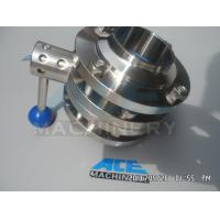 Buy cheap Sanitary Stainless Steel Pulling Hanlde Butterfly Valve (ACE-DF-7T) product