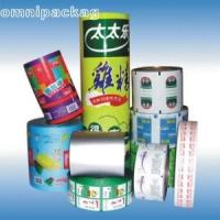 Aluminized Automatic Plastic Packaging Film Roll Stock PP / VMCPP / PET / VMCPP