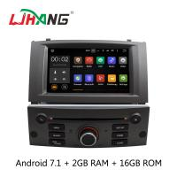Buy cheap Android 7.1 7 Inch Peugeot DVD Player PX3  4Core With AUX-IN Map GPS product