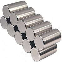 Buy cheap Neodymium Iron Boron Cylinder Magnets with Highly Magnetic Property product