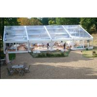 Buy cheap 500 People Big Waterproof Transparent Polygon Event Tent With Clear Span Structure from Wholesalers