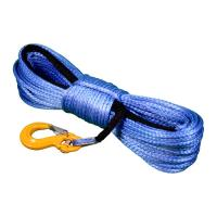Buy cheap UHMWPE Fiber Rope Winch Line Grade 80 Rigging Hook Superior Abrasion Resistance product