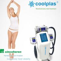 Buy cheap Vertical Type Cryolipolysis Fat Freeze Slimming Machine 300mm × 400mm × 900mm product