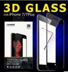 protector de cristal moderado de la pantalla del teléfono celular de cubierta completa de 3D 0,15 milímetro 9H para Iphone 7/7plus