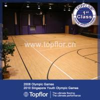 Buy cheap Basketball Court Wood Pattern Flooring product