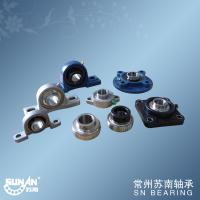 Buy cheap Small Cast Iron Pillow Block Bearing With Set Screws Or Eccentric Locking Collar from Wholesalers