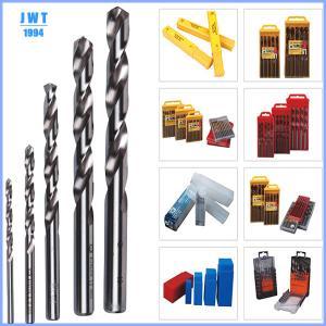 Buy cheap HSS yellow titanized twist drill bits,HSS DRILL BITS product