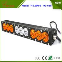 """Quality 90w 16.6"""" 9-30V combo single stack offroad led light bar with amber and for sale"""