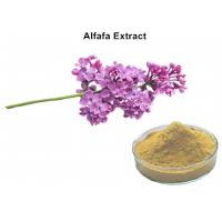 Buy cheap Alfafa Plant Extract Powder 5% Flavonoids UV Lowering Blood Fat Chloresterol And Diuretic product