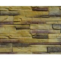 Buy cheap Lightweight PVC Artificial Cultured Stone Panel 3D PU Polyurethane Faux Wall Veneer product
