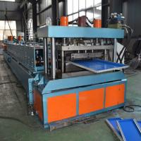 Buy cheap Fast Storage Shelf Rack Roll Forming Machine Load Metal Making Machine product