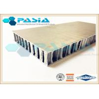 Buy cheap Brushed Metal Honeycomb Door Panels For Shipbuilding / High Speed Train product
