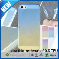 Shockproof Transparent Rubber TPU Matte iphone 5s Custom Cell Phone Case