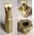 Buy cheap Taper 6/12 Degree Drill Reamer Bit Diameter 64 - 89mm YK05 Carbide Material product