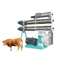 Buy cheap 1.5-10mm Poultry Animal Feed Pellet Machine Adopt Siemens Motor With Conditioner product