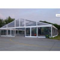 Buy cheap 15m * 25m Transparent Water Proof PVC Tent Fabric  Party Tents For Outdoor Activity product
