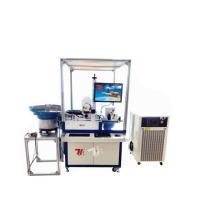 Buy cheap Automatic CO2 Laser Marking Machine for Natural Agglomerated Tapered Cork Stopper product