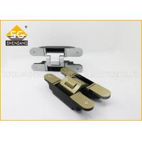 Buy cheap Metal 180 Degree 3d Concealed Adjustable Gate Hinges Heavy Duty product