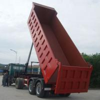 Buy cheap Mining / Construction Semi Trailer Tipper Truck product