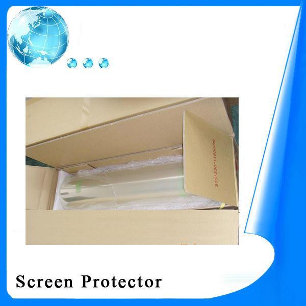 Clear Screen Guard Anti Fingerprint Screen Protector PET ...