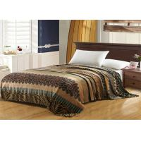 Buy cheap Leopard Pattern Flannel Fleece Blanket Machine Washing For Home And Hotel product