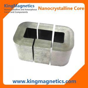 Custom high performance amorphous and nanocrystalline multi-cut c cores for HF transformer
