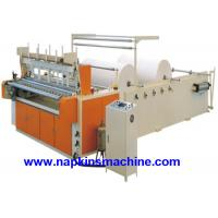 Buy cheap Coloured Toilet Paper Making Machine , Toilet Paper Converting Machine product