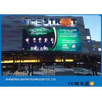 Buy cheap Advertising Video Wall LED Energy Saving Module P6 Outdoor SMD LED Screen Customized Cabinet Size product