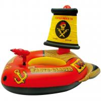 Great Buoyancy Kids Inflatable Boat , Splendid Printing Inflatable Swimming Boat
