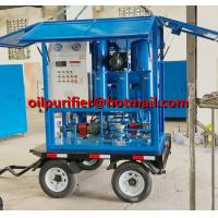 Buy cheap Trolley Mounted Transformer Oil Purifier, Movable Transformer Oil Regeneration System mobil oil recycling machine cover product