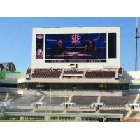 Buy cheap Sport P10 Stadium Led Display Screen / Full Color Led Signs Outdoor 3g 10000k product