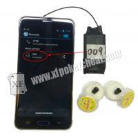 Buy cheap A8 Bluetooth Wilress Earpieces Work With Poker Analyzers And Mobile Phone product