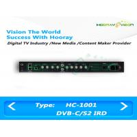 IRD Digital TV Satellite Receiver BNC Interface With WEB Management Mode